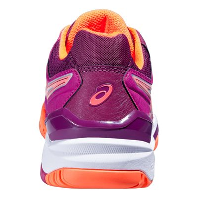 Asics Gel-Resolution 6 Ladies Tennis Shoes SS16 Back View
