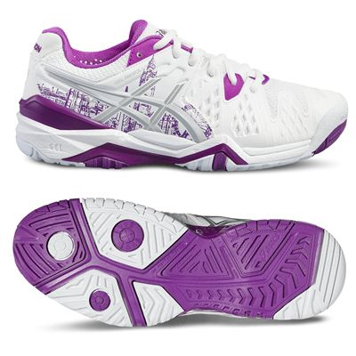 Asics Gel-Resolution 6 LE London Ladies Tennis Shoes