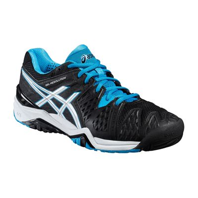 Asics Gel-Resolution 6 Mens Tennis Shoes-Angled