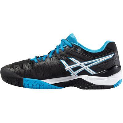 Asics Gel-Resolution 6 Mens Tennis Shoes-Side