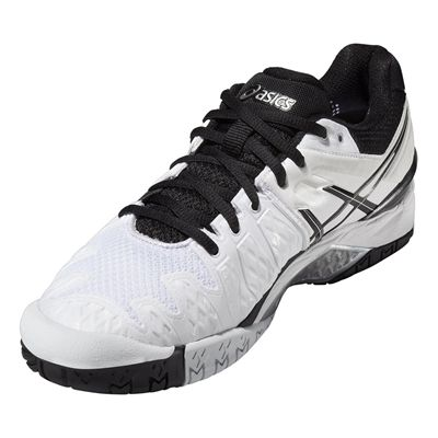 Asics Gel-Resolution 6 Mens Tennis Shoes SS16 Angle View