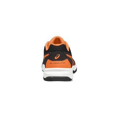 Asics Gel-Resolution 7 GS Boys Tennis Shoes-heel