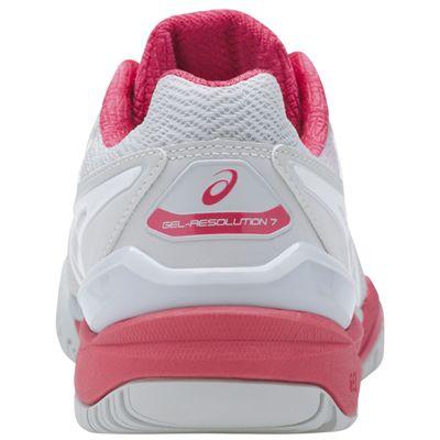 Asics Gel-Resolution 7 Ladies Tennis Shoes-back