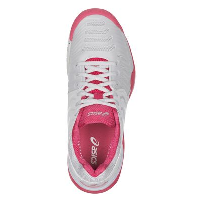 Asics Gel-Resolution 7 Ladies Tennis Shoes AW17 Pink - Above