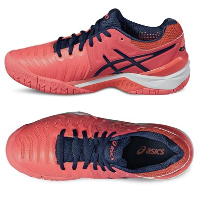 Asics Gel-Resolution 7 Ladies Tennis Shoes - Additional image
