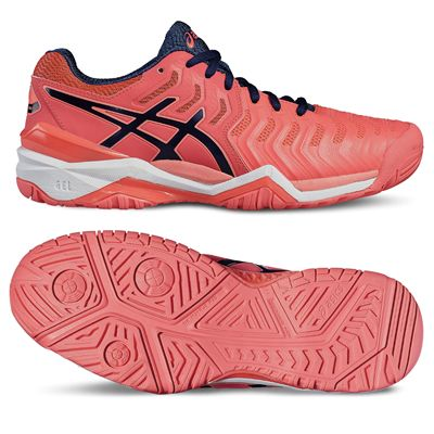 Asics Gel-Resolution 7 Ladies Tennis Shoes - Main image
