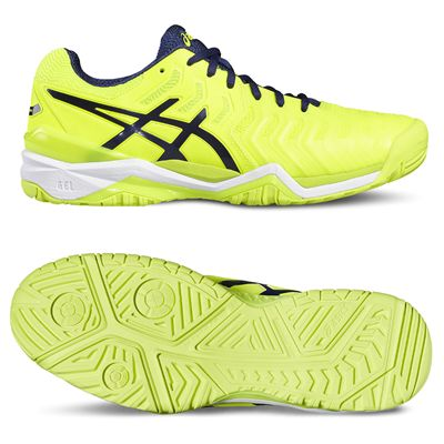 Asics Gel-Resolution 7 Mens Tennis Shoes - Yellow