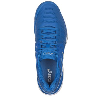 Asics Gel-Resolution 7 Mens Tennis Shoes AW17 - Blue - Above
