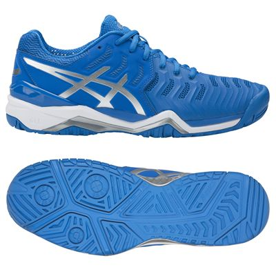 Asics Gel-Resolution 7 Mens Tennis Shoes AW17 - Blue