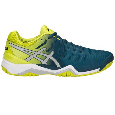 Asics Gel-Resolution 7 Mens Tennis Shoes SS18 - Blue