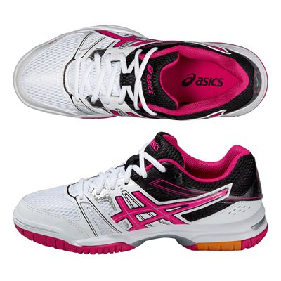 Asics Gel-Rocket 7 Ladies Indoor Court Shoes - Alternative View Image