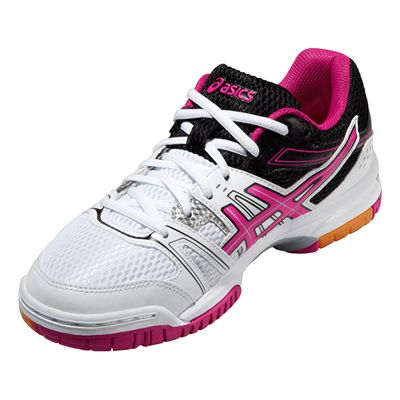 Asics Gel-Rocket 7 Ladies Indoor Court Shoes - Angle View