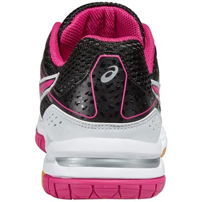 Asics Gel-Rocket 7 Ladies Indoor Court Shoes - Rear View