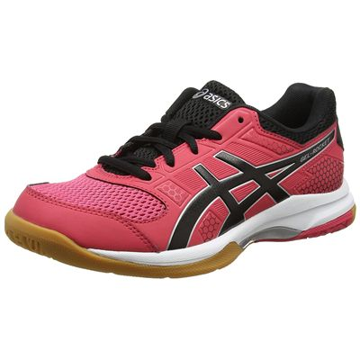 Asics Gel-Rocket 8 Ladies Indoor Court Shoes - Pink - Amazon