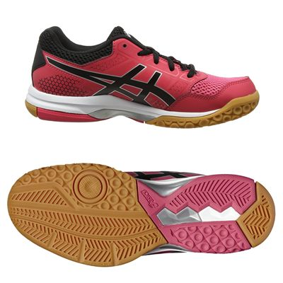 Asics Gel-Rocket 8 Ladies Indoor Court Shoes - Pink  Main