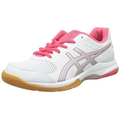 Asics Gel-Rocket 8 Ladies Indoor Court Shoes - White - Amazon