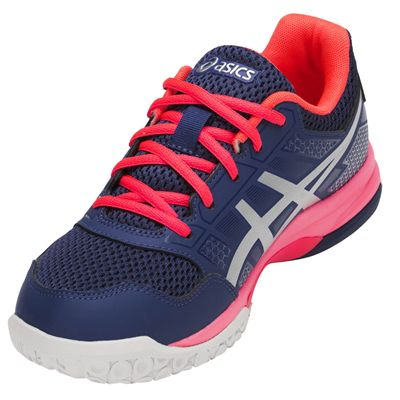 Asics Gel-Rocket 8 Ladies Indoor Court Shoes AW18 - Angled2