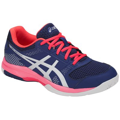 Asics Gel-Rocket 8 Ladies Indoor Court Shoes AW18 - Angled