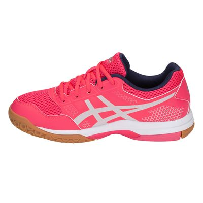 Asics Gel-Rocket 8 Ladies Indoor Court Shoes AW18 - Pink/Side