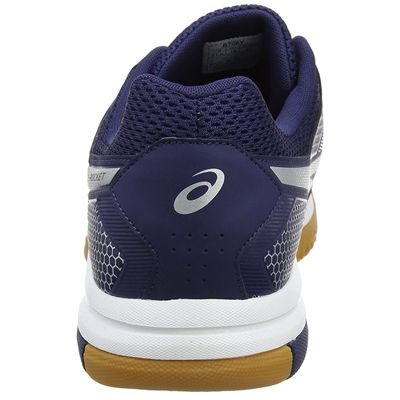 Asics Gel-Rocket 8 Mens Indoor Court Shoes - Navy - Back
