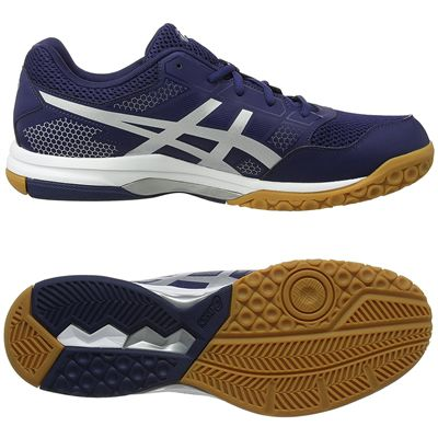 Asics Gel-Rocket 8 Mens Indoor Court Shoes - Navy - Main