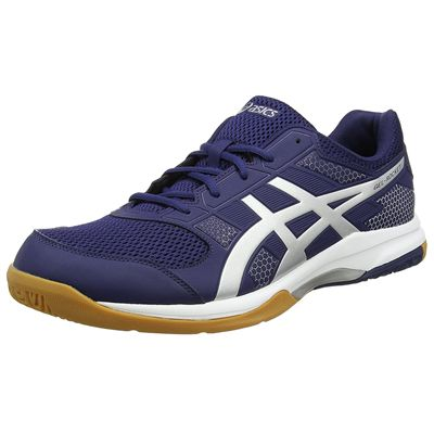 Asics Gel-Rocket 8 Mens Indoor Court Shoes - Navy - Side
