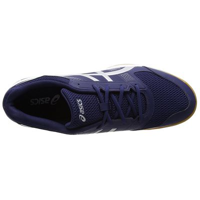 Asics Gel-Rocket 8 Mens Indoor Court Shoes - Navy - Top
