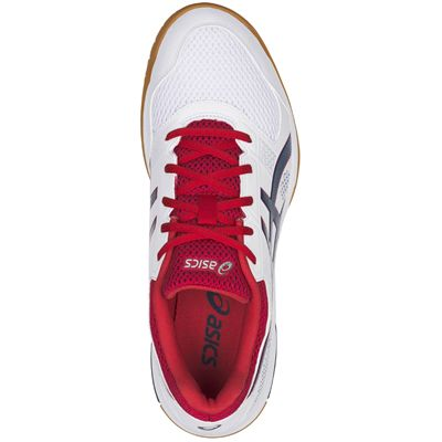 Asics Gel-Rocket 8 Mens Indoor Court Shoes AW18 - Red - Above