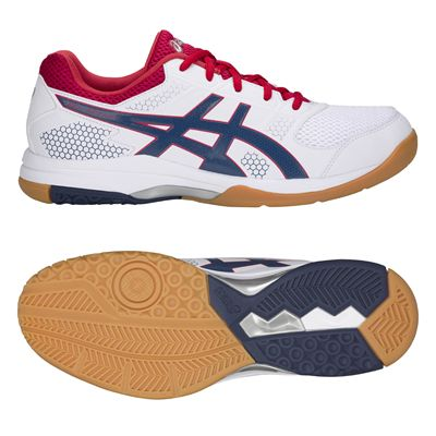 Asics Gel-Rocket 8 Mens Indoor Court Shoes AW18 - Red