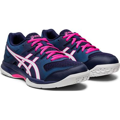 Asics Gel-Rocket 9 Ladies Court Shoes SS20 - Angled