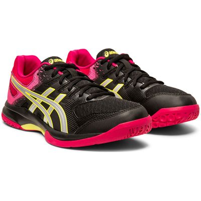 Asics Gel-Rocket 9 Ladies Indoor Court Shoes - Angled