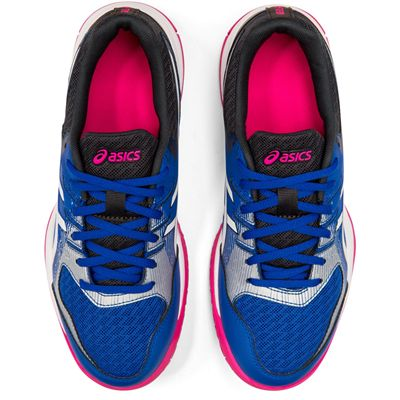 Asics Gel-Rocket 9 Ladies Indoor Court Shoes - Blue - Above