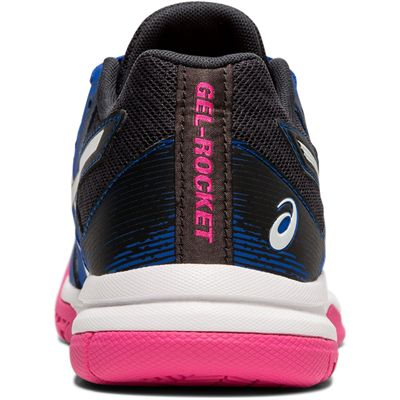 Asics Gel-Rocket 9 Ladies Indoor Court Shoes - Blue - Back