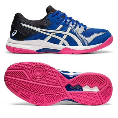 Asics Gel-Rocket 9 Ladies Indoor Court Shoes - Blue