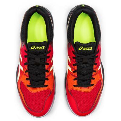 Asics Gel-Rocket 9 Mens Indoor Court Shoes - Red - Above