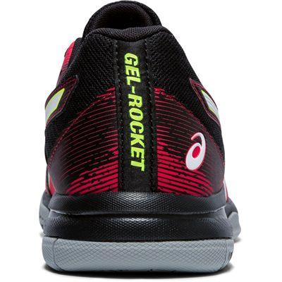 Asics Gel-Rocket 9 Mens Indoor Court Shoes - Red - Back