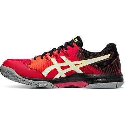 Asics Gel-Rocket 9 Mens Indoor Court Shoes - Red - Side