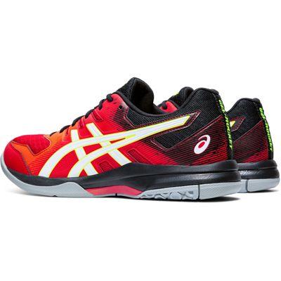 Asics Gel-Rocket 9 Mens Indoor Court Shoes - Red - Slant
