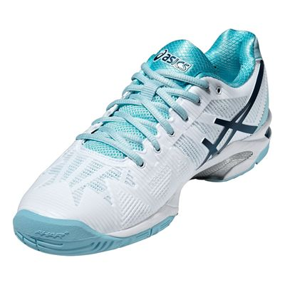 Asics Gel-Solution Speed 3 Ladies Tennis Shoes Angle View