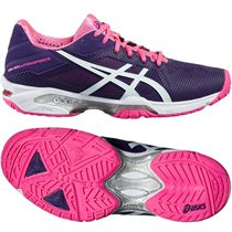 Asics Gel-Solution Speed 3 Ladies Tennis Shoes AW16