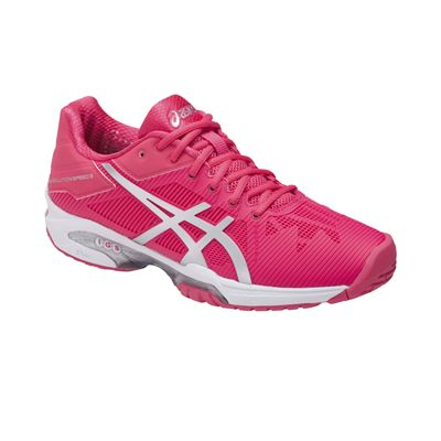 Asics Gel-Solution Speed 3 Ladies Tennis Shoes AW17 - Angle2