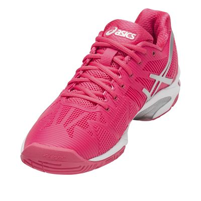 Asics Gel-Solution Speed 3 Ladies Tennis Shoes AW17 - Angled