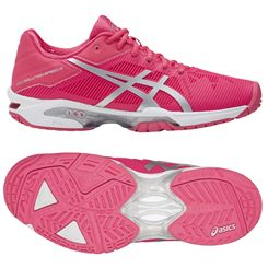 Asics Gel-Solution Speed 3 Ladies Tennis Shoes AW17