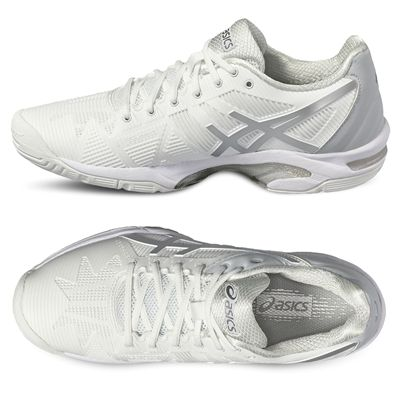 Asics Gel-Resolution 7 Mens Tennis Shoes - White - Alt.View