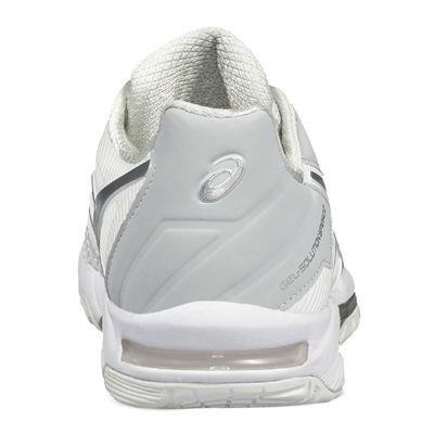 Asics Gel-Resolution 7 Mens Tennis Shoes - White - Back