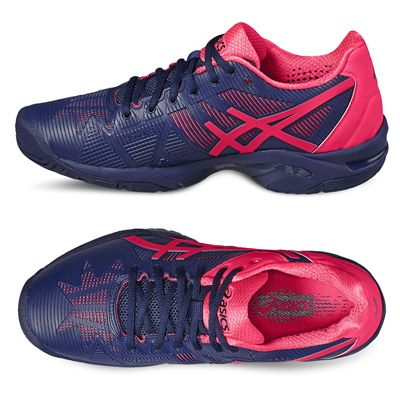 Asics Gel-Solution Speed 3 Ladies Tennis Shoes SS17-additional