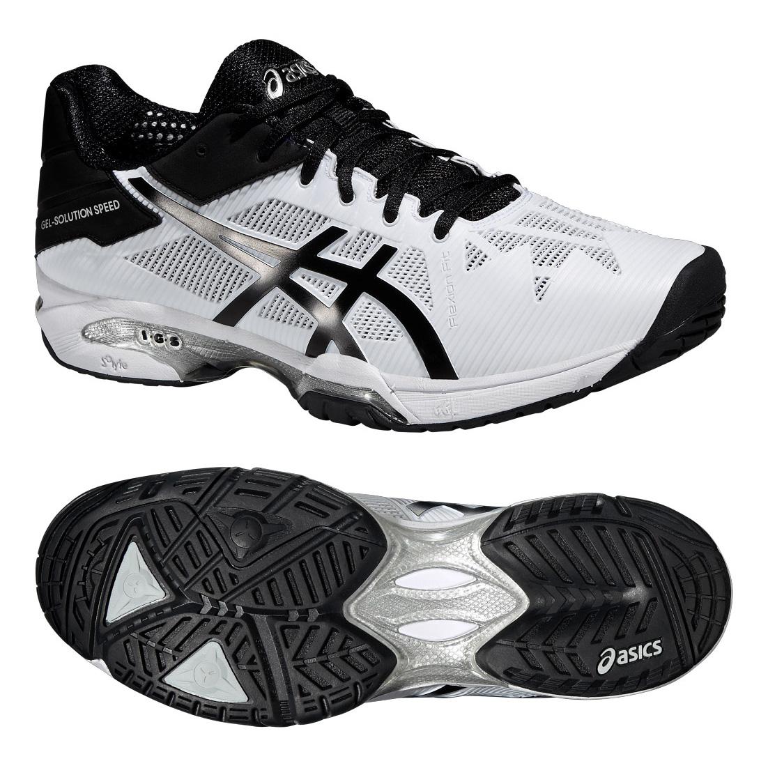 Asics GelSolution Speed 3 Mens Tennis Shoes SS16  12 UK
