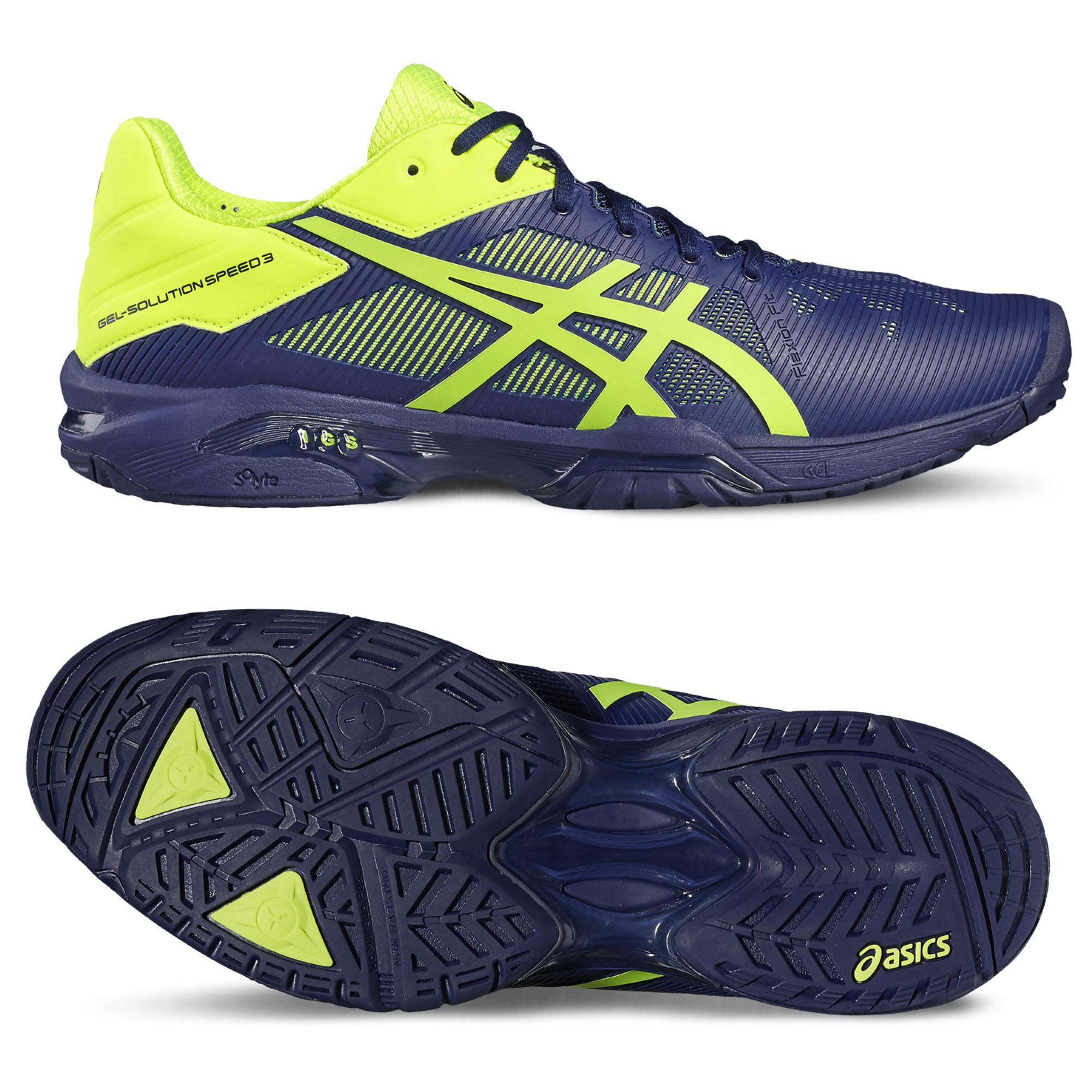 Asics GelSolution Speed 3 Mens Tennis Shoes SS17  11.5 UK