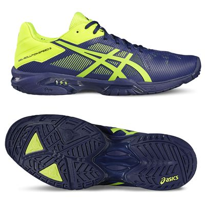 Asics Gel-Solution Speed 3 Mens Tennis Shoes-main