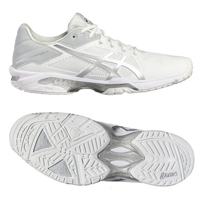 Asics Gel-Solution Speed 3 Mens Tennis Shoes SS17-white-main